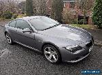 BMW 635D M-Sport Black Leather. for Sale