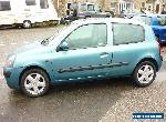 renault clio 1200cc in blue on a 2002 plate,  for Sale