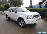 2011 Nissan Navara D22 Series 5 ST-R (4x4) White Manual 5sp M for Sale