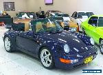 1975 Porsche 911 CARRERA 3.2 Blue 5 SP MANUAL Cabriolet for Sale