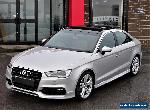 2014 Audi A3 2.0TDI ( 150ps ) ( s/s ) S Line SALOON WITH EXTRAS NOT GTD for Sale