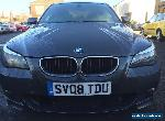 "L@@K 2008*BMW 520D M SPORT 2.0 DIESEL*""08"" REG*SPARES OR REPAIRS*NON RUNNER*177 for Sale"