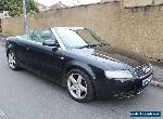 2003 AUDI A4 CONVERTIBLE 3.0 petrol  for Sale