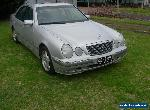IMMACULATE MERCEDES E240 W210 1999 UPDATE MODEL WITH 12 MONTHS VICTORIAN REGO,   for Sale