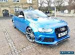 AUDI S4 RS4 3.O TFSI V6 DSG QUATRO REPLICA NOT SALVAGE SPRINT BLUE CONVERSION PX for Sale