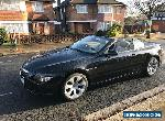BMW 645CI CONVERTIBLE BLACK FULL SERVICE HISTORY  for Sale