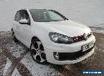 2012 VOLKSWAGEN GOLF GTI PETROL MANUAL WHITE for Sale