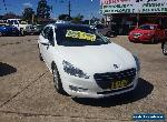 2012 Peugeot 508 Allure HDI White Automatic A Wagon for Sale