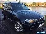 2007 03 BMW X3 2.0 D M SPORT 5D 148 BHP DIESEL for Sale