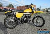SUZUKI RM50 - 1978   VINTAGE BIKE  $1500 for Sale