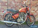 Royal Enfield, 500cc Bullet, colour tangerine, motorcycle for Sale