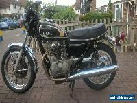 YAMAHA XS650B 1975 HISTORIC VEHICLE MOT EXEMPT TAX FREE ULEZ COMPLIANT for Sale