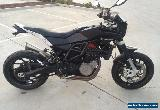 HUSQVARNA NUDA 900 02/2013 MODEL 13998KMS PROJECT  MAKE AN OFFER for Sale