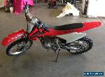 HONDA  CRF150F  2004 for Sale