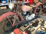 Indian 741 Scout Motorcycle Project  for Sale
