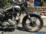 BSA ZB 31 restoration project 350cc 1950 for Sale