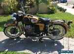 1971 Moto Guzzi 750 Ambassador for Sale