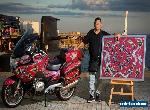Collectors Motorcycle - World's First Fully Hand Painted Aboriginal Art Bike for Sale