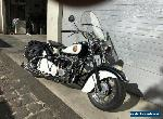 1952  Indian Chief Blackhawk motorcycle for Sale