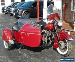 1951 Indian Chief with Sidecar for Sale
