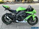 KAWASAKI ZX10 ZX 10 ZX10R 06/2010 MODEL 31484KMS PROJECT MAKE AN OFFER for Sale