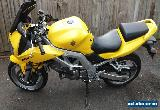 2004 SUZUKI SV 650 SK4 YELLOW for Sale