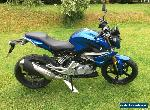 BMW - G310R - ABS - 2017 - BLUE - WITH CENTRE STAND for Sale