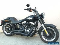2013 Harley Davidson Stage 4 103ci Softail Fat Boy Low with Only 14,000kms! for Sale