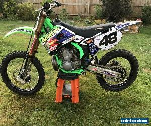 kawasaki kx 250 2 stroke, amazing bike, super evo. for Sale