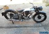 Norton Model 18 500cc OHV 1934 Brilliant restoration piece for Sale