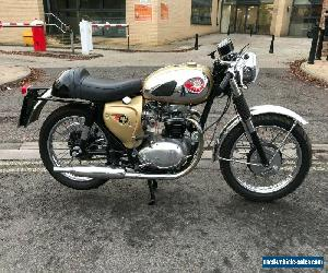 1965 BSA 650 A65 Lightning Clubman Spec 650cc Classic Motorcycle Gold stunning for Sale