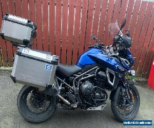 Triumph Tiger Explorer 1200 XCA Top of the range, 3 box luggage, cheapest online for Sale