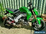 KAWASAKI Z125 PRO @ 984 KMS LOADED. CARBON / YOSHI / FULL 12 MONTHS REGO !! for Sale