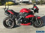 TRIUMPH SPEED TRIPLE 1050 - 12/2014 MODEL 6868KMS PROJECT MAKE AN OFFER for Sale