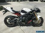 TRIUMPH DAYTONA 675 675R 01/2011 MODEL 22406KMS PROJECT MAKE AN OFFER for Sale
