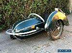 SIDECAR Steib Nurnberg sidecar s500 1954 fit to BSA Pre war motorcycle WM20 for Sale