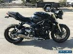 TRIUMPH STREET TRIPLE 660 LEARNERS 01/2015 MODEL PROJECT MAKE AN OFFER for Sale