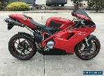 DUCATI 848 08/2008 MODEL 33707KMS PROJECT STARTS AND RIDES MAKE AN OFFER for Sale