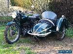 BSA Pre war motorcycle WM20 sidecar barn find collectable classic 1944 500 ccm for Sale