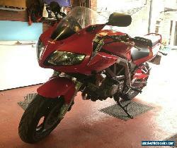 Red Suzuki SV650S 2005 Motorbike Motorcycle Sports Tourer 650cc 18k Low Millage for Sale