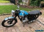 Triumph Tiger 100 vintage motorcycle 1962 for Sale