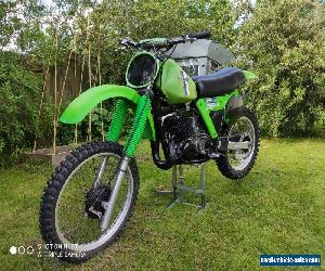 Kawasaki kx250 1980 RARE classic Motocross bike