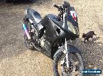 2007 LIFAN LF 125 -30 125CC LEARNER LEGAL SPORTS MOTORBIKE BLACK SPARES REPAIRS for Sale