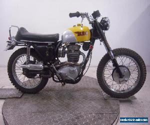 1968 BSA B44 Victor Special Unregistered US Import Barn Find British Classic  for Sale