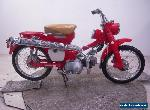 Circa 1966 Early Honda CT90 US Import Restoration Project  for Sale