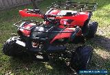 quad bike 125 motor cycle forward and reverse not a honda hardly used christmas for Sale