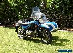 2011 URAL Tourist 750cc Sidecar outfit for Sale