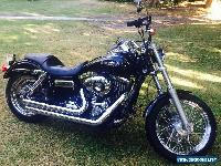 HARLEY DAVIDSON Black Dyna Superglide Custom 2013 Model - Low Kilometers  for Sale