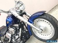 2007 Harley Davidson Softail Fat Boy 96ci 6 Spd with Only 12,000kms for Sale