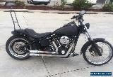 HARLEY DAVIDSON SOFTAIL NIGHT TRAIN 10/2007MDL 26298MPH PROJECT ***READ ADD**   for Sale
